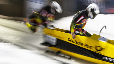 Germany dominate the 2-man at the bobsleigh European Championships