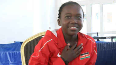 La prodige du tennis de table kenyan de 11 ans vise grand
