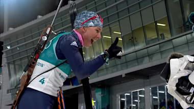 Anastasiya Kuzmina - Biathlon Women's 12.5km Mass Start