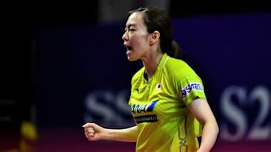 【卓球】アジア選手権3日目 女子団体で石川佳純らの日本チームは準優勝
