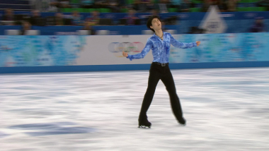 Yuzuru Hanyu (JPN) | Patinage Artistique F - Replay de Sotchi 2014