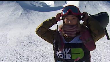 Chloe Kim fecha o ano com incrível vitória no Dew Tour