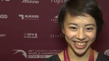 村上茉愛、世界選手権での銀メダルを語る