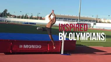 مقتطفات من ألعاب القوى I Inspired by Olympians
