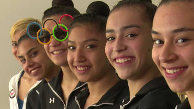 Mexican Rhythmic Gymnasts turn idols into rivals and claim Pan American gold