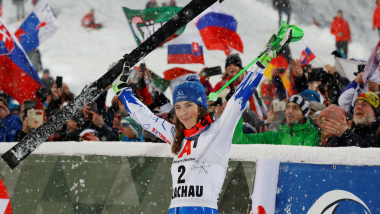 Who is Petra Vlhova? Slovak skier who ended Shiffrin's slalom streak