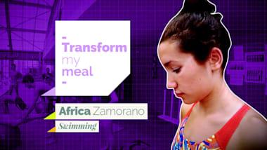 Africa Zamorano ai fornelli in compagnia di Miguel Aldana