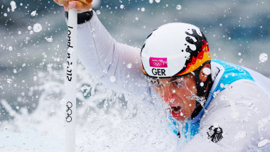 2012: Тасиадис завоевывает серебро в соревнованиях каноистов-одиночек