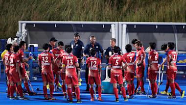 ホッケー東京五輪テストイベント3日目:日本男子代表はインドに6得点を許し、敗北