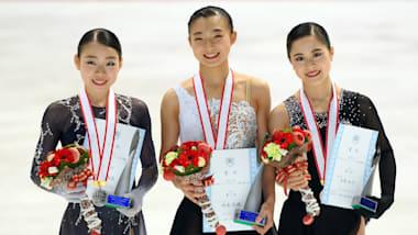 フィギュア、全日本選手権女子は坂本花織が逆転で初優勝、紀平梨花はフリートップも及ばず2位