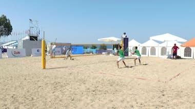 Highlights - Jour 1 | Jeux de Plage Méditerranéens 2019 - Patras