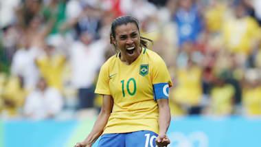 Marta: alle olympische Tore