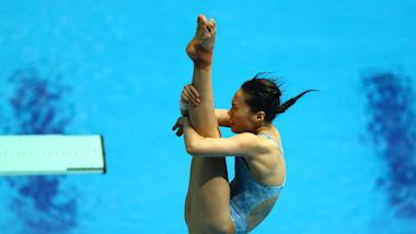 3м, финал, женщины   Прыжки в воду - Чемпионат мира FINA - Кванджу