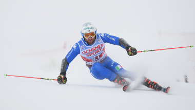 Men's Giant Slalom - Run 2   FIS World Cup - Val d'Isere
