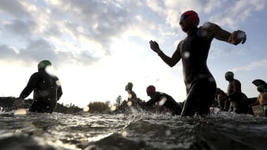 ITUワールドトライアスロンOQE最終日:ミックスリレーで日本は11位、水質基準満たしスイムも実施