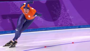 O contratempo de uma lesão atrasa o tetracampeão olímpico Sven Kramer