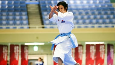 迫力の演武、スピーディーな突きや蹴り テストイベント「READY STEADY TOKYO-空手」を開催