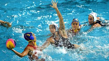 ذهبية سيدات -  USA × ESP | كرة الماء - بطولة العالم