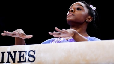 A look back at Simone Biles' history-making moments in Stuttgart