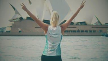 ASSISTA...Maratona de Sydney em Blackmores
