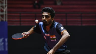 Gritty Gnanasekaran bows out from Asian Table Tennis Championships