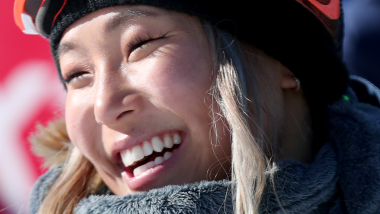 Olympic snowboard champ Chloe Kim breaks ankle in U.S. open defeat