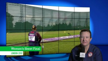 Kim Rhode | London 2012  | Take the Mic