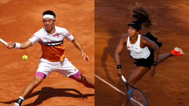 テニス・全仏OP男女組み合わせ決定:錦織圭は153位のアリスと、大坂なおみは92位のシェミエドロバとの1回戦に