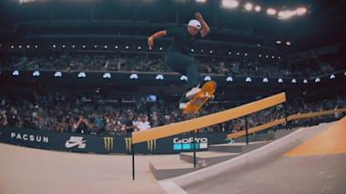 À VOIR... Championnats du Monde SLS de Skateboard - São Paulo