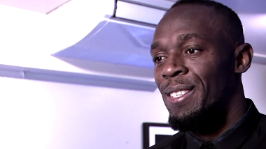 Usain Bolt ponders football 'offers' at his UK restaurant launch