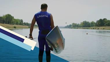 Matija Ljubek e la tradizione olimpica di famiglia nella canoa