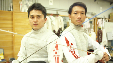 Sports Swap: Хирото Гомджо и Кента Тида - каратэ против фехтования