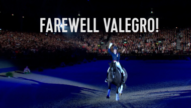 Emotional last dance for 'perfect horse' Valegro