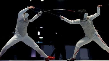 Epee (M) & Foil (W) Semis & Finals | Fencing - Summer Universiade - Napoli