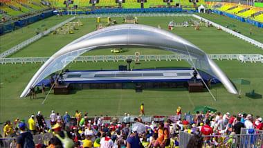 Pentathlon moderno: scherma, equitazione, combinata | Rio 2016 Replay