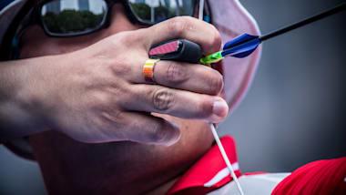 Олимпийский лук, медальные матчи, микст и индивид.   Кубок мира - Анталья