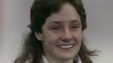 Perché la figlia di una 5 volte medaglia d'oro può far piangere la mamma?