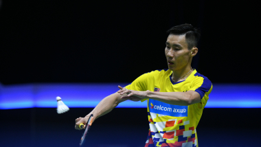 Lee Chong Wei making