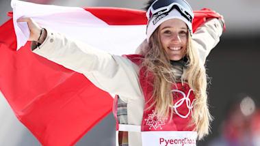 A estrela do Big Air, Anna Gasser, revela seu desejo