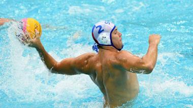 Men's QF 4  - ITA v GRE   Water Polo - FINA World Championships - Gwangju