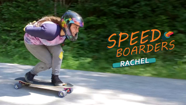 راتشيل بروسكوف - التزلج اللوحي على المنحدرات