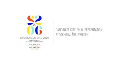 Présentation Finale Ville Candidate - Stockholm-Åre, Suède