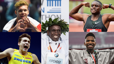 Eliud Kipchoge, Kevin Mayer, and Christian Coleman headline IAAF Male Athlete of the Year shortlist