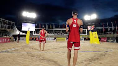 Herren Finals | Beachvolleyball Olympische Qualifikationsturnier