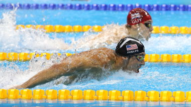 The history of Olympic swimming