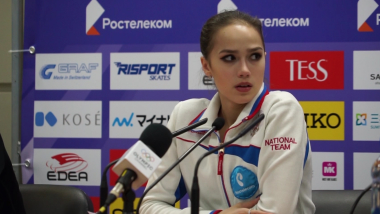 Zagitova not worried about scores