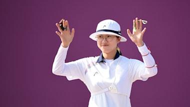 Korean archery rising star An San targets Tokyo 2020 after test event gold
