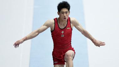 全日本体操種目別選手権決勝:橋本が高校生で世界選手権代表へ、演技中転落の神本も代表入り