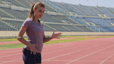 ألعاب القوى: الجري بسرعة أكبر