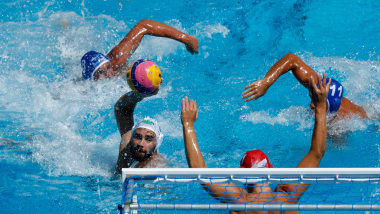 Men's 13/14 - KAZ v BRA    Water Polo - FINA World Championships - Gwangju